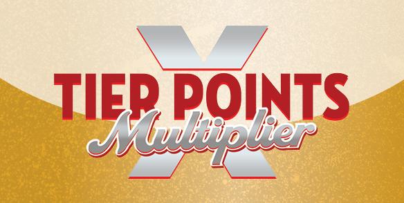 Tier Points Multiplier