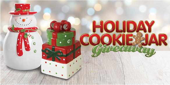 Holiday Cookie Jar Giveaway