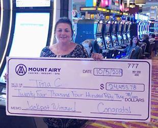 Poconos Jackpot winner