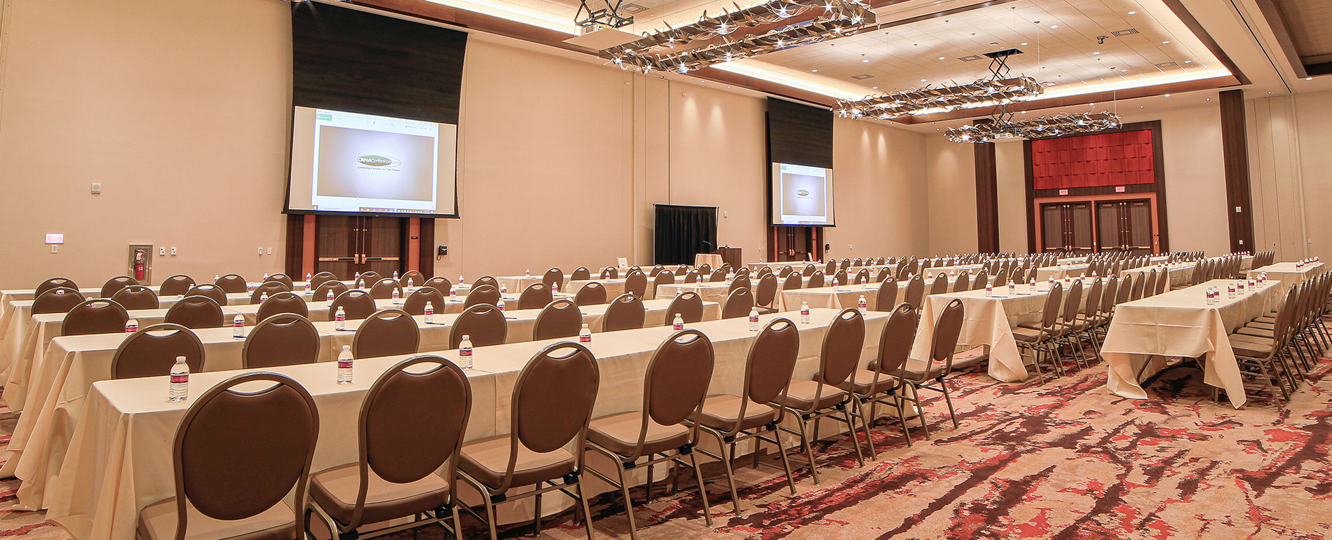 pocono convention center - classroom setup