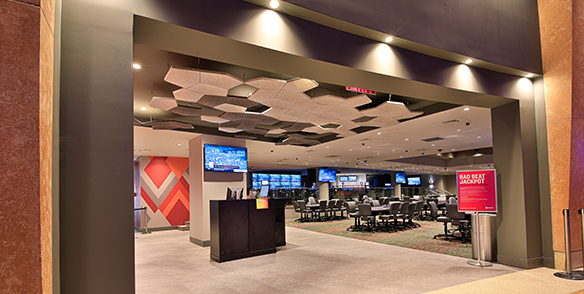 mt poconos sportsbook poker room entrance