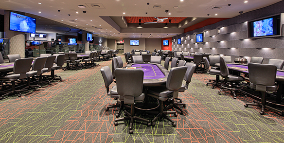 pocono region poker table room