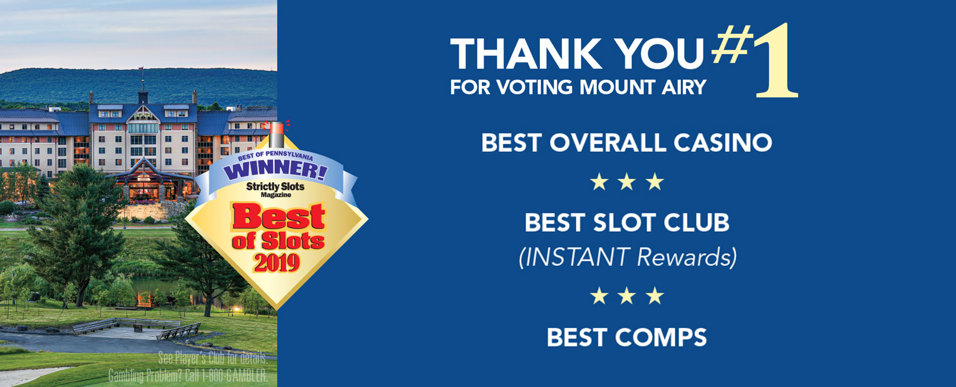 pocono best of slots 2019 award winner