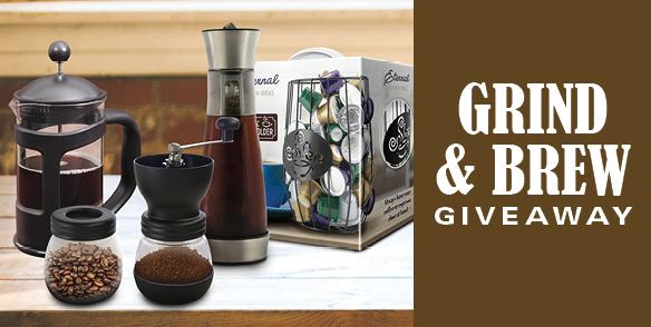 Grind & Brew Giveaway