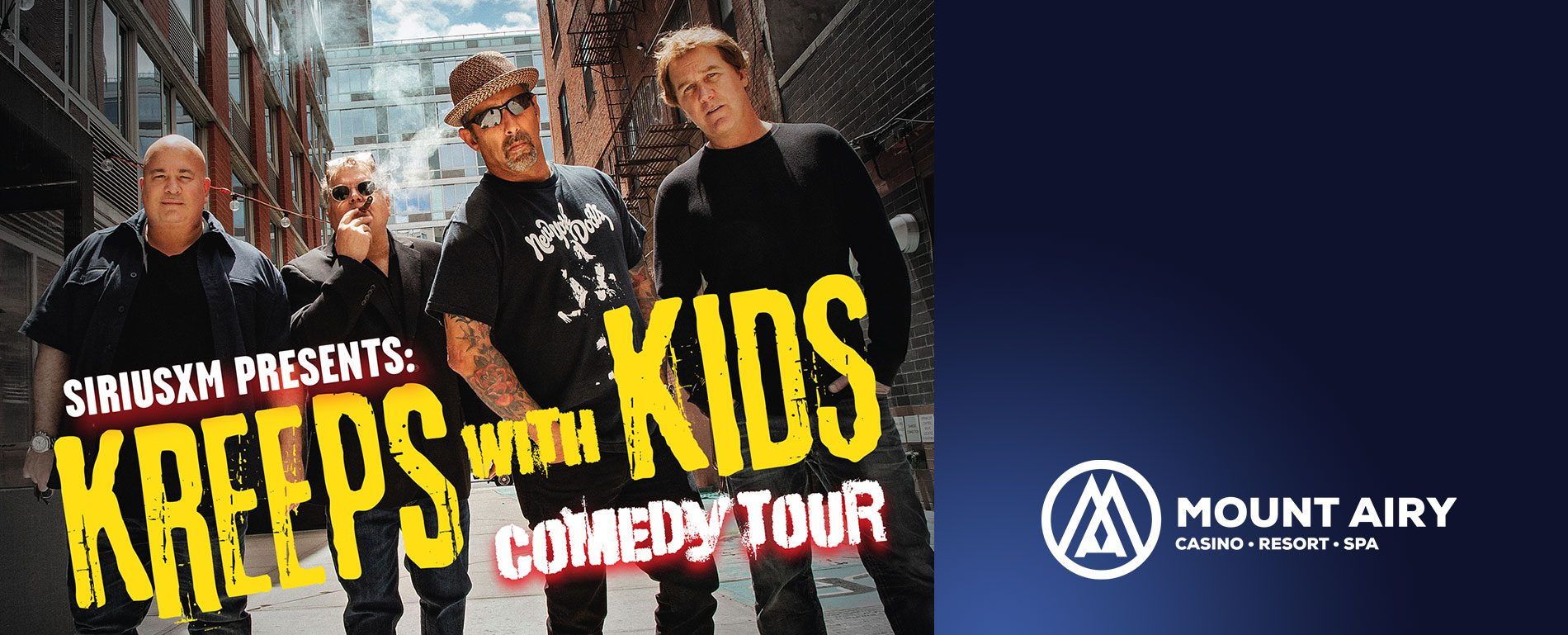 mt poconos entertainment | Kreeps with Kids Comedy Tour
