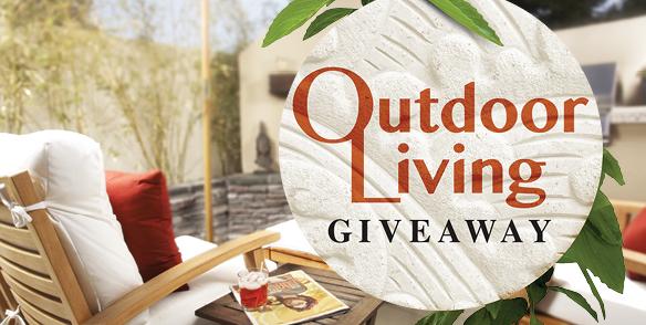 Outdoor Living Giveaway Bonus