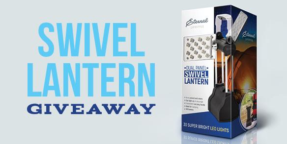 Swivel Lantern Giveaway