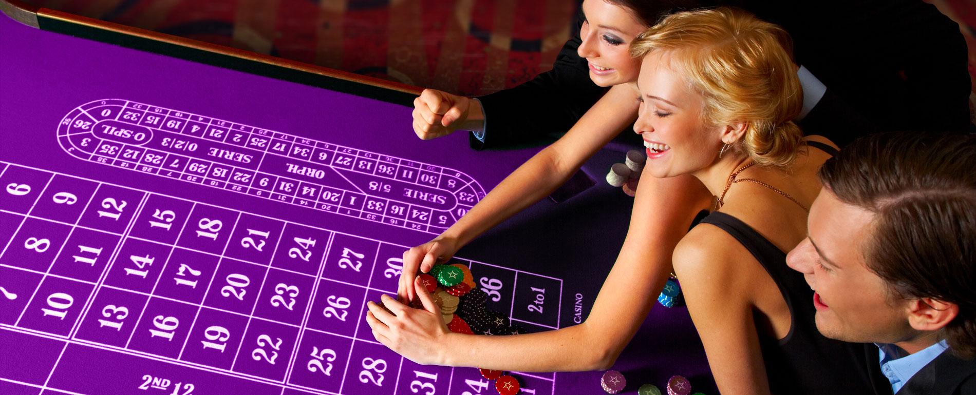 PA casino roulette table