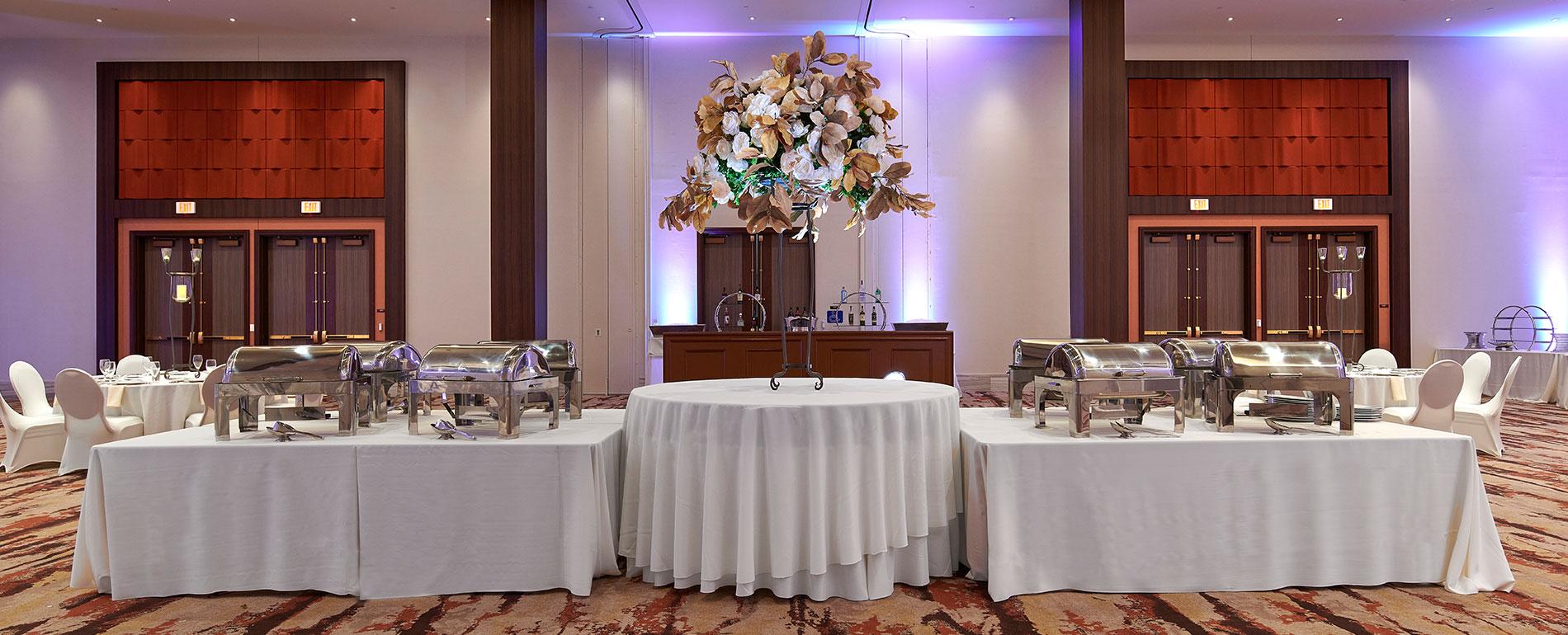 pocono mountain indoor buffet wedding venue