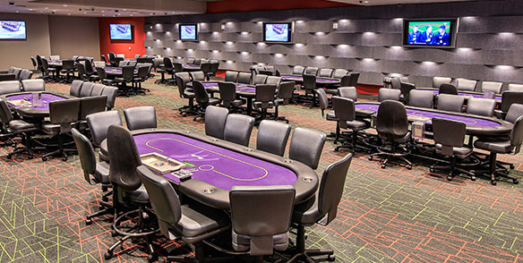 mt pocono Poker room tables