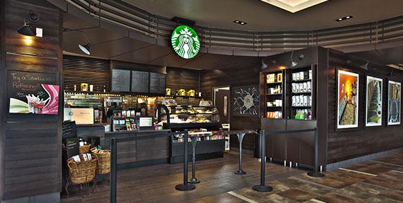 Pocono Starbucks coffee cafe