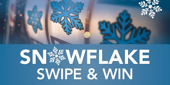 Snowflake Swipe & Win