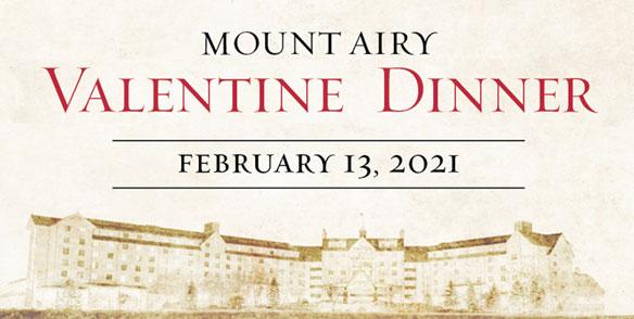 Valentine Dinner in the Poconos