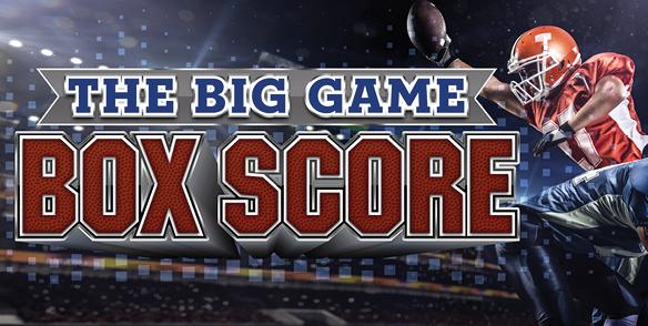 The Big Game Box Score