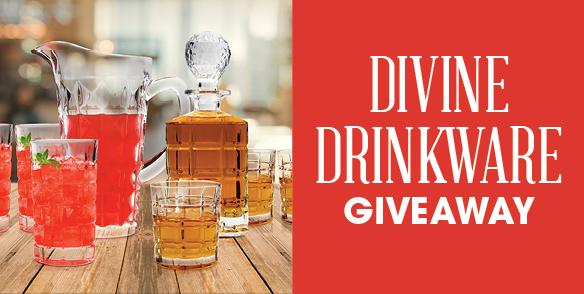 Divine Drinkware Giveaway