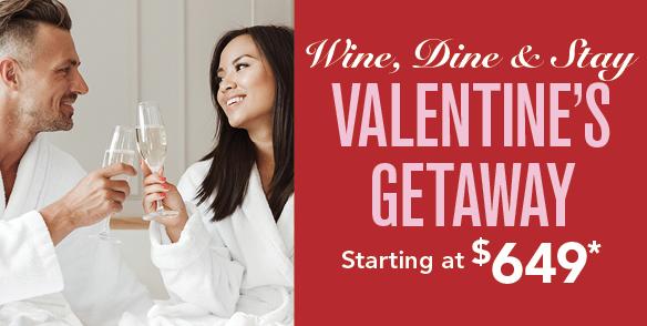 Wine, Dine & Stay