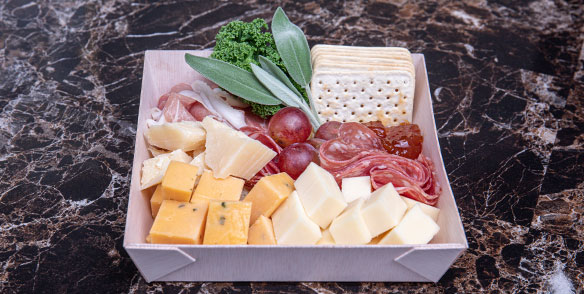 gourmet cheese board - preset amenities