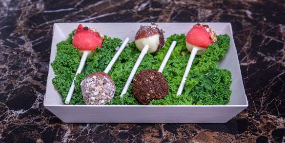 creamcheese cakepops - preset amenities