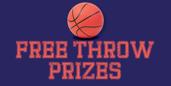 Free Throw Prizes