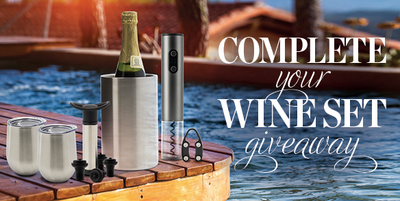 Complete your Wine Set Giveaway