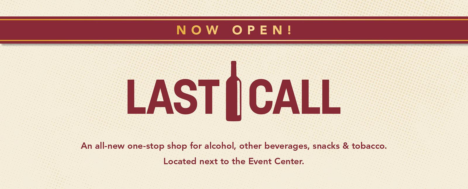Last Call Stop Shop