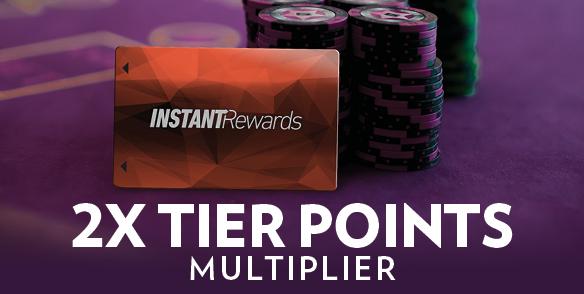 2x Tier Points Multiplier