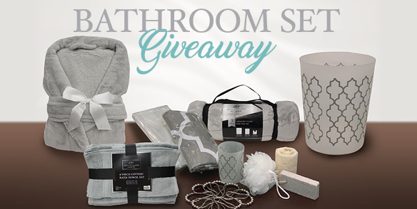 Bathroom Set Giveaway