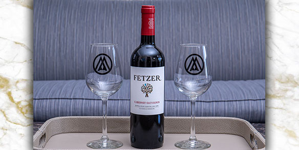 2021 Amenities | Fetzer house red wine