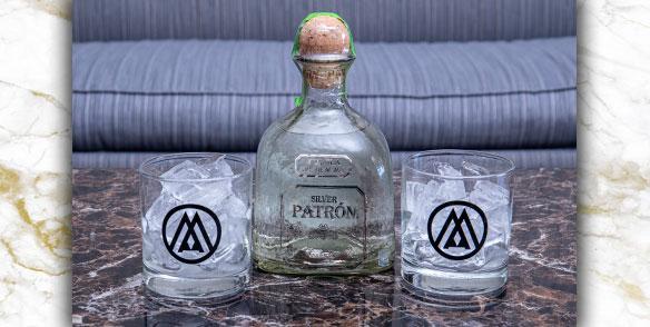 2021 Amenities | Silver patron liquor