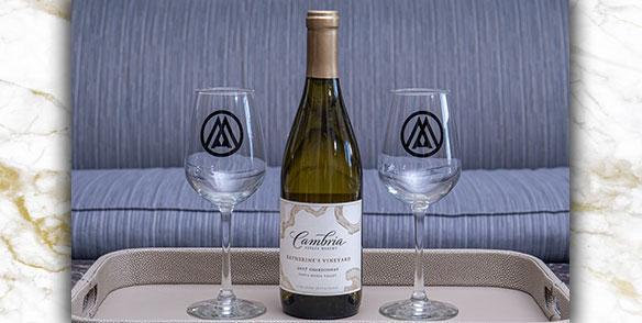 2021 Amenities | Premium White Wine Cambria
