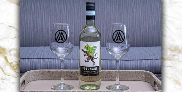 2021 Amenities | Folonari house white wine