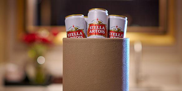 imported beer - stella artois, heineken, corona