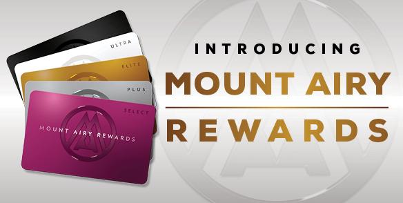 new mt airy reward - player's card 2021
