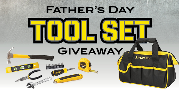 Father's Tool Set Giveaway