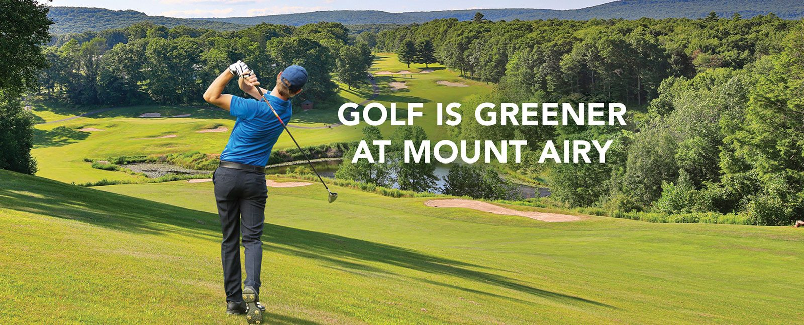 golf is greener at mount airy