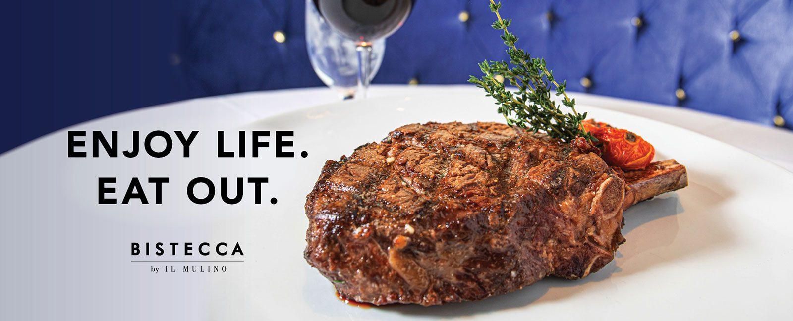 enjoy life. eat out.