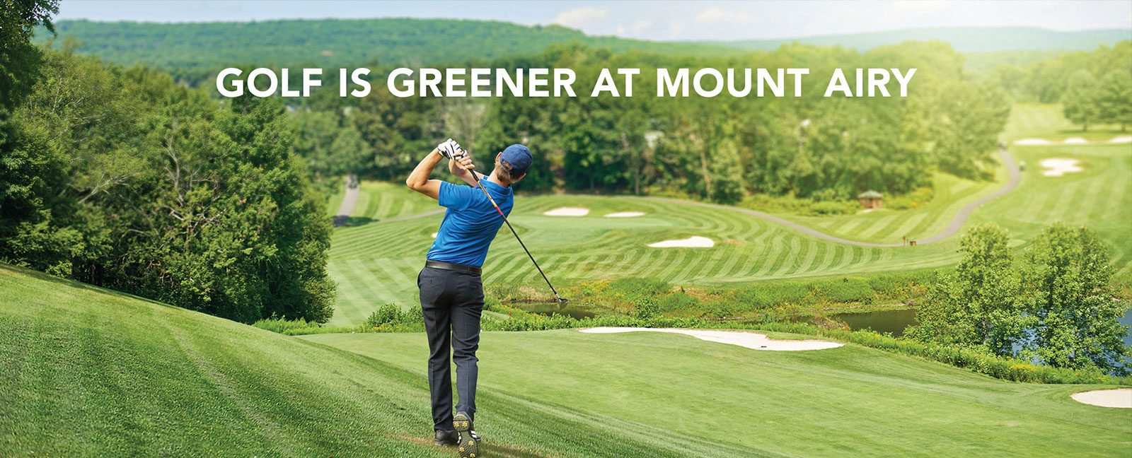 golf is greener at mt airy