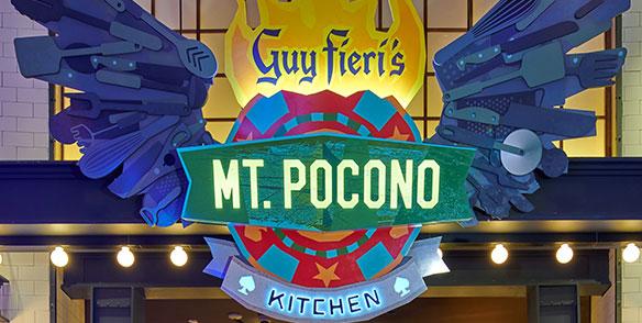 guy fieri's mt pocono kitchen entrance