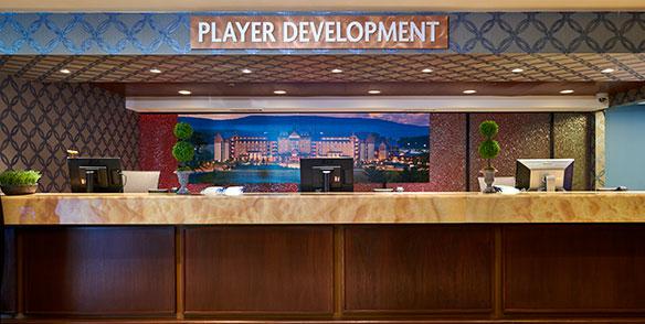 player development desk