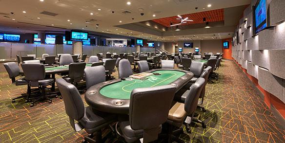 poker room table