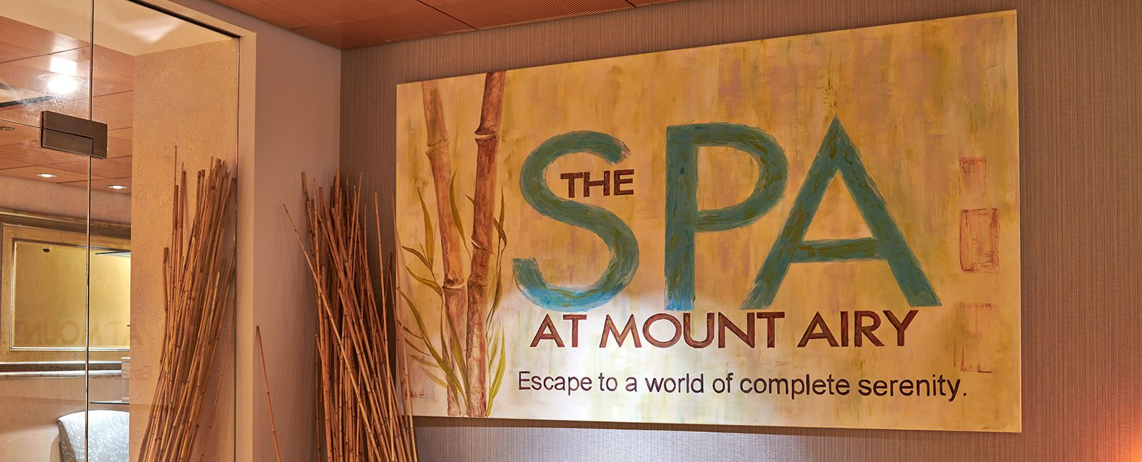 the spa at mount airy - escape to a world of complete serenity
