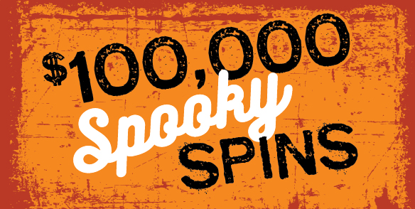 $100,000 Spooky Spins