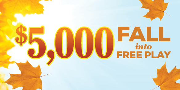$5,000 Fall into Free Play