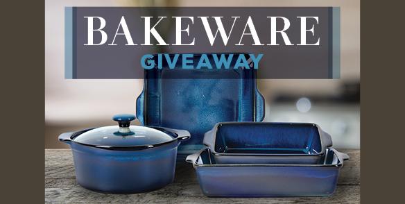 Bakeware giveaway