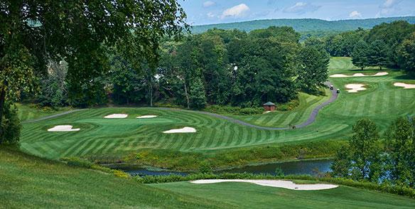 pond sandpit golf course