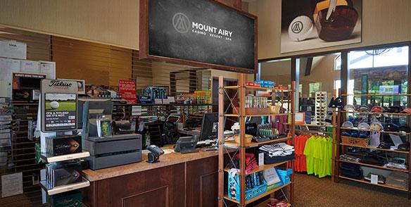 golf store pro shop