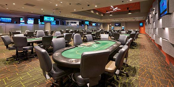 poker tables - sportsbook lounge