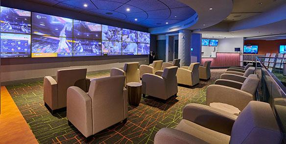 tv lounge recliner seating